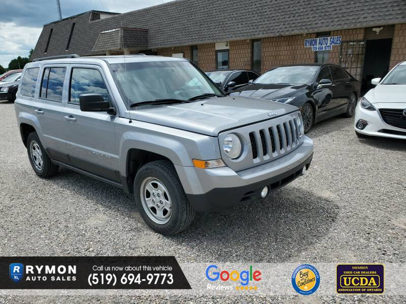 2014 - Jeep - Patriot - 1C4NJRAB3ED855170