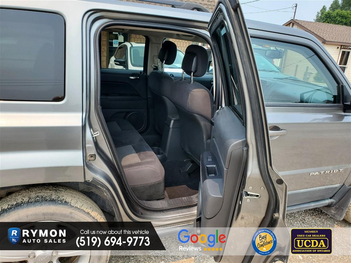 2011 - Jeep - Patriot - 1J4NF2GBXBD251184